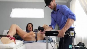 Vanessa Videl The Fuck Machine And The Delivery Man