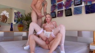 Audrey Star Aubrey Star Loves Pearl Necklaces Julesjordan Girls Want To Be Fucked