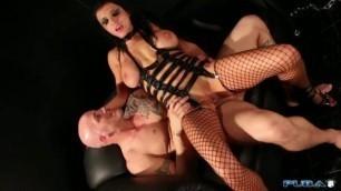 Puba Romi Rain Girl Sucking A Huge Cock