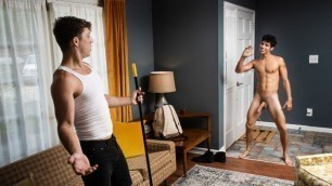 Men - Kaleb Stryker And Paul Canon Fucking All Over The House