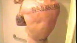 Hot Tattooed Marine Shower Gay Male Romance