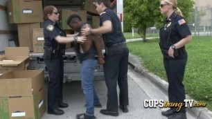 Kinky BBC lovers are ready to fuck hard with a black criminal.
