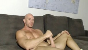 Johnny Sins solo 4 sexy inflated guy fingering