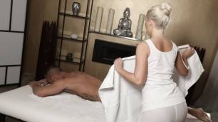 Massagerooms - Cool Blonde Baby Lovita Fate Picked Up By Big Cock