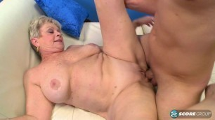 Lin Boyde busty mature granny she is the boss