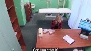 FakeHospital Petite patient now craves big dick