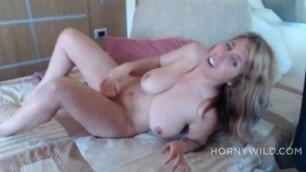 Gotmylf Nasty Big Tits Blonde Shows Off And Masturbates