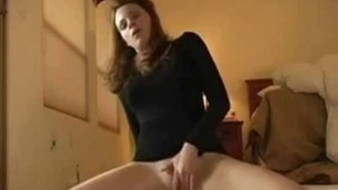Girl uses toys and squirts