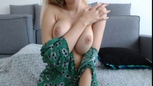 Perky Teen Tits And Tight Ass On Webcam