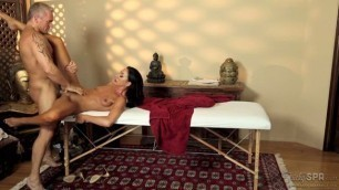 Help Me Get My Car Back massage table sex Tiffany Brookes Marcus London TrickySpa