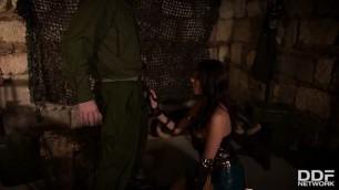 HandsOnHardcore Anissa Kate Hot Horny Wonderwoman Salacious Babe in Costume Fucked Up Her Ass