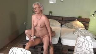 Elvira & John Price mature MILF granny