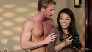 Miko Dai No Happy Ending Suck Pussy And Dick