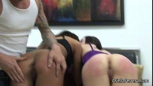 Video Fucking My Wife Ariella Ferrera In Finger Me Please With Amy Sativa