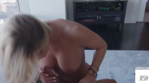 Jessa Rhodes Jessa gets fucked by Jesh and gets blasted with a massive load of asian cum on her face JeshByJesh