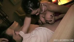 PornstarPlatinum Ariella Ferrera Big Boobs Saturday Night Hardcore
