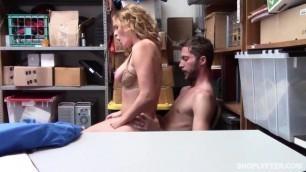 Krissy Lynn Beautiful girl forced to fuck Case No 0336587 Shoplyfter