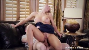 Brazzers Long Hair Blonde Nicole Aniston Theres A Pornstar In My House