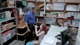 Shoplyfter Pepper Hart lovely girl bending on the table and fucking Case No 5587980