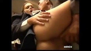 Awesome Girl Natasha Nice flight stewardess get fucked