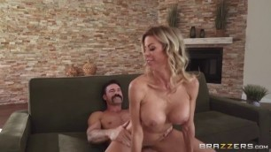 Plump As A Peach sex on the couch Alexis Fawx Charles Dera