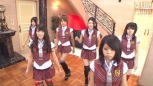 Shaved Japanese demonstrate their young pussies Msg Sixis Part 1