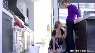 Brazzers Blonde with big tits Nicole Aniston The Perfect Maid 2 Domination