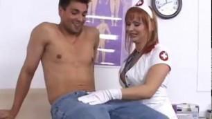 Kinky nurse Katja Kassin gets rammed by her patient