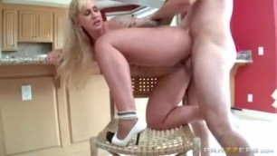 She Is Best Milf Ryan Conner Take A Seat On My Dick fucks another mans wife in the kitchen