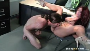Becoming Johnny Sins on the table Part Two Monique Alexander Danny D in close office