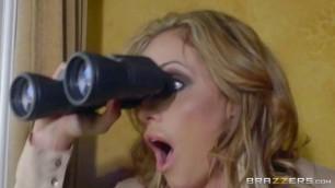 Eva Notty porno 2016 MILF Latina Blonde Police Blowjob strong woman