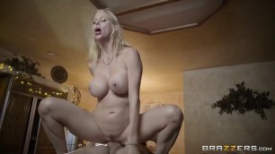 Brazzers Teen boy is seduced by his wifes horny mom Alexis Fawx Sex with a chic lady