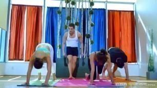 Abella Danger Cassidy Banks cockney porn big ass yoga big tits latina HD Porn