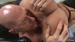 Anissa Kate Dr latina with big tits in stockings fucks patient sex with friend wife