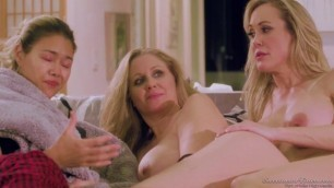 Blonde Girls Julia Ann Brandi Love How They Met SweetheartVideo