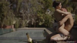EroticaX Alina Lopez Brunette passionately groans during sex La Lover