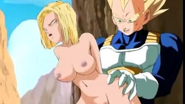 Dbz anal porn