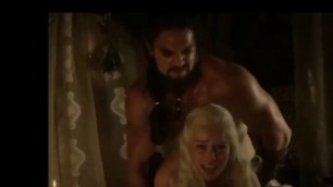 CUTE EMILIA CLARKE NUDE AND SEX SCENE COMPILATION VIDEO