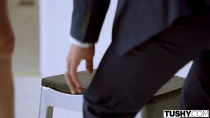 Paige Owens anal tushy