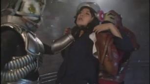 Non transformation Heroine Go Soldier Shelley Hayakawa New Mountain Maple superheroine