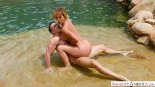 Cherie Deville gets fuck into the pool MyFriendsHotMom NaughtyAmerica