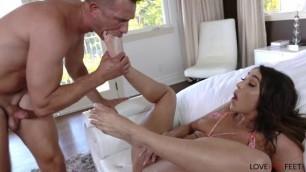 Cristiana Cinn sucks dick My Husbands Friend Stopped By Today LoveHerFeet