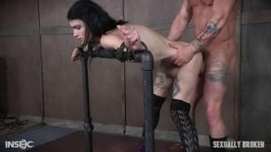 Skinny slut fuck hard Lydia Black Part 1 SexuallyBroken