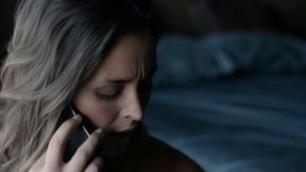 Natalie Krill nude Erika Linder nude Mayko Nguyen nude in lesbian sex scene Below Her Mouth 2016