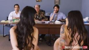 Pretty Girls Brenna Sparks Jade Kush The Gang Makes a Porno A DP XXX Parody Episode 2