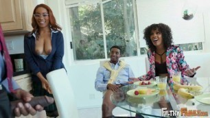 Misty Stone, Jenna Foxx get my dick hard Lets Keep It In The Family FilthyFamily