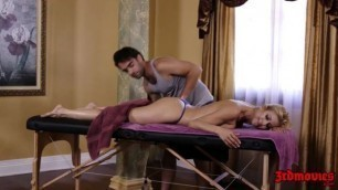Blonde Big Tits MILF Alexis Fawx Gets Nailed by Her Masseur
