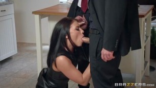Incredible Brunette adriana chechik the dinner party