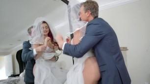 RealityKings Redhead bride Skyla Novea The Cum Spattered Bride RKPrime