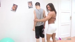 Jordi El Nino Polla - Young Boy Fucked By A Hot And Muscular Mature Woman